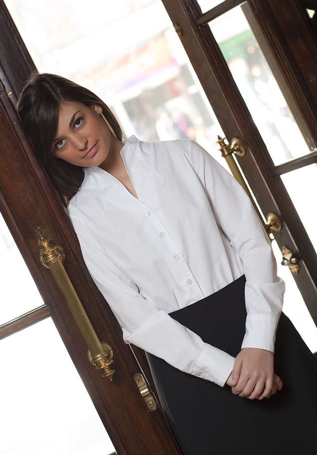 WOMEN´S TULIP COLLAR SHIRT FIL A FIL