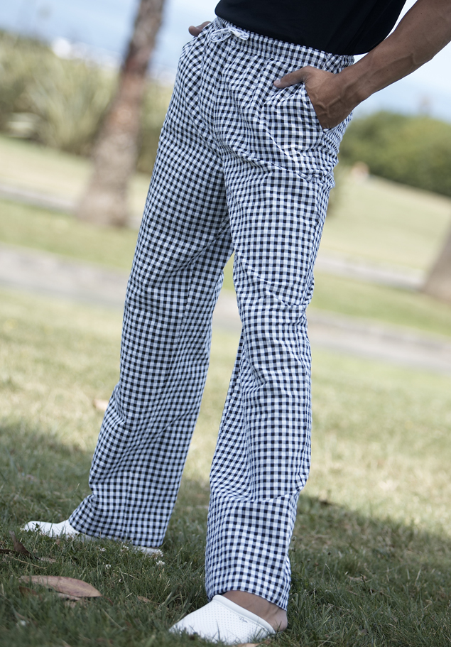 UNISEX CHECKS TROUSER