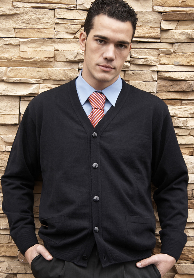 MEN'S 5 BUTTON CARDIGAN