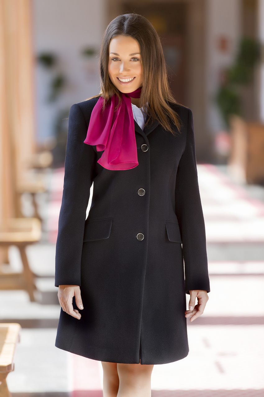WOMEN`S FLAP COLLAR COAT