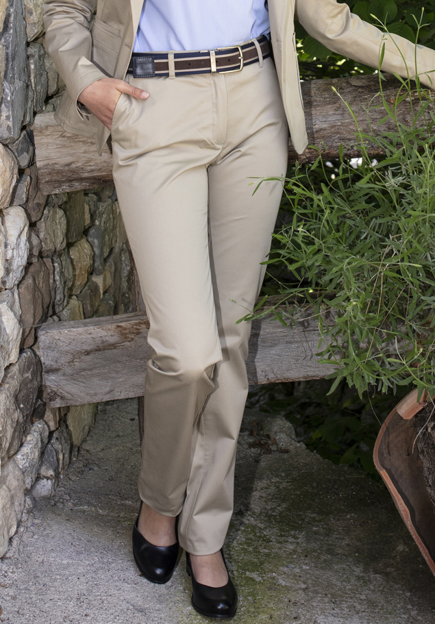 WOMEN'S CHINO TROUSERS