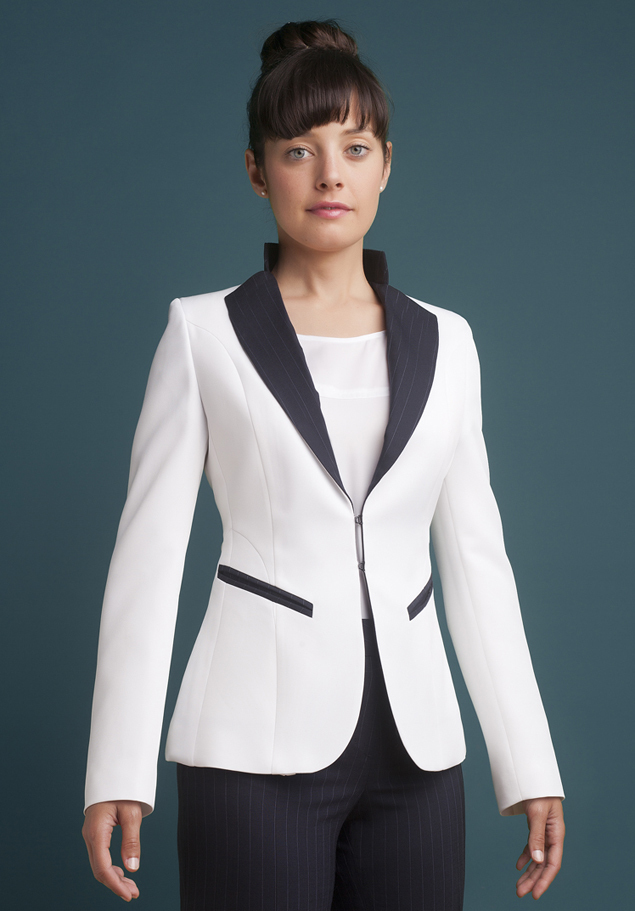 WOMEN'S HIGH LAPEL JACKET