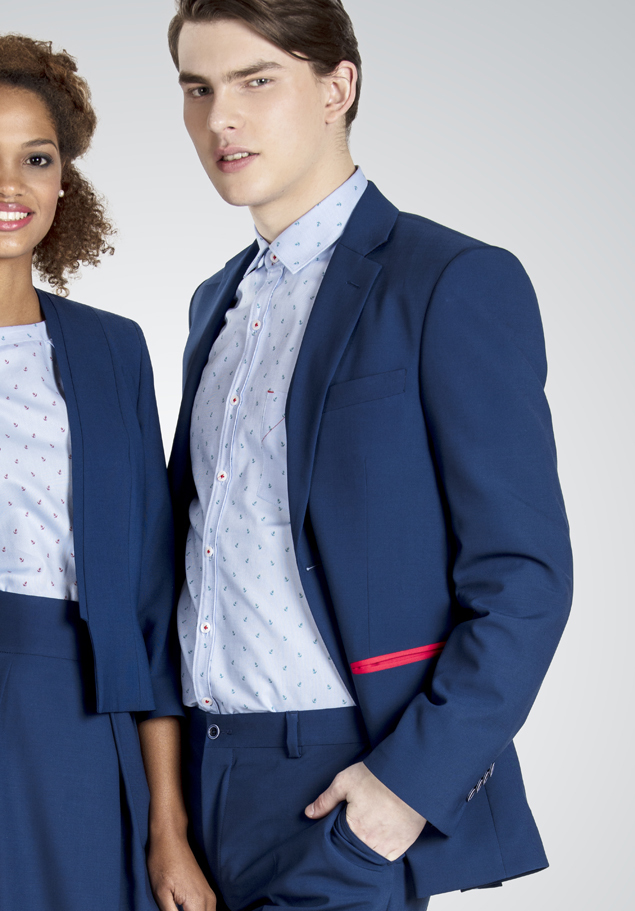 MEN'S JACKET WITH COMBINED POCKETS