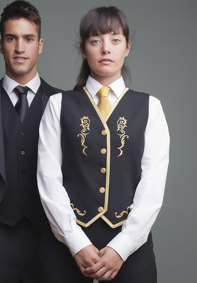 WOMEN'S EMBROIDERED WAISTCOAT