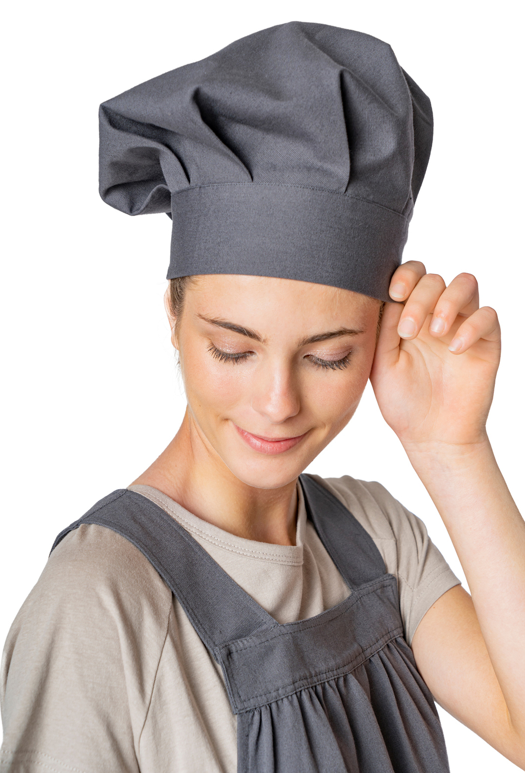 CHEF HAT ORGANIC FABRIC