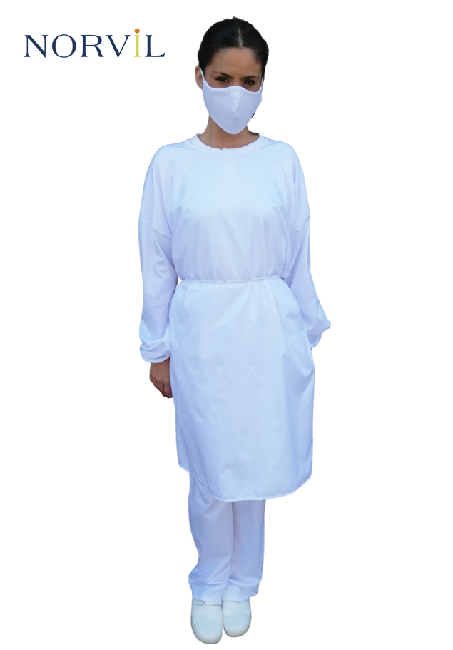 HYGIENIC REUSABLE GOWN OPEN BACK