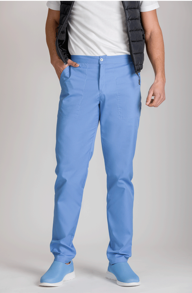 UNISEX BACK ELASTIC WAIST TROUSERS COLORS