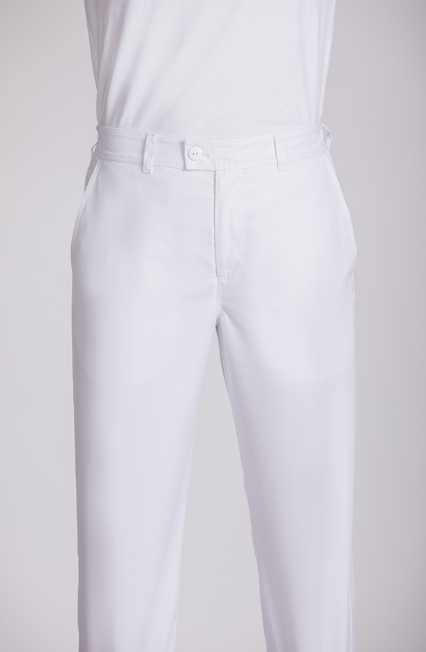 UNISEX TROUSER WITH BACK ELASTIC WAIST SUSTAINABLE FABRIC
