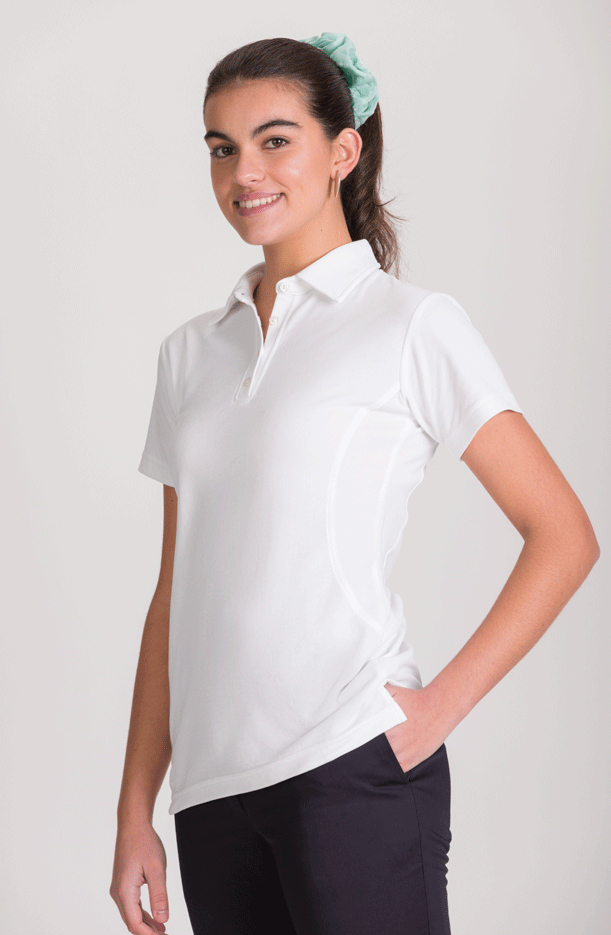 WOMEN'S SHORT SLEEVE POLO-SHIRT NATURA®