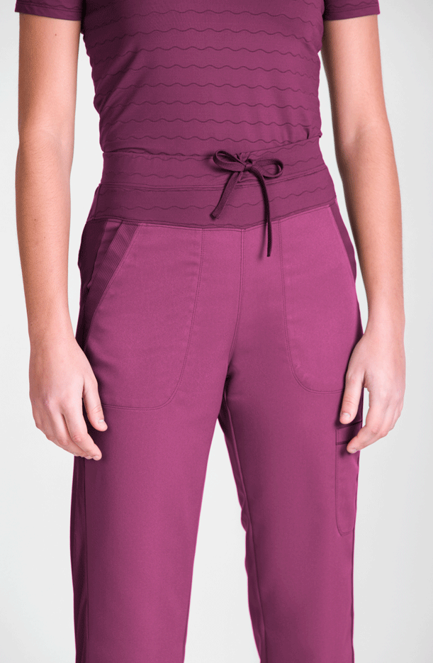 WOMEN'S TROUSERS DRAWSTRING ELASTIC WAIST